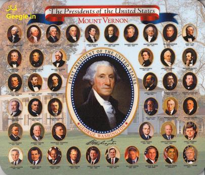 با 45 رییس جمهور آمریکا آشناشوید