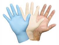 آشنایی با انواع دستکش های یکبارمصرف و کاربرد آنها