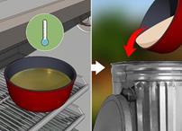 نحوه دفع روغن پخت و پز
