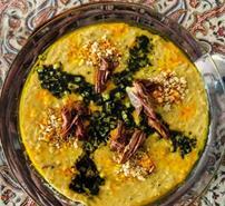 پخت آش های محلی, طرز تهیه آش محلی همدان