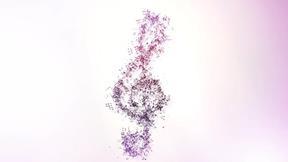 Musical Notation Logo Reveal II