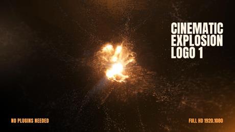 Cinematic Explosion Logo