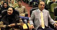 کتایون ریاحی و همسرش مسعود بهبهانی