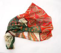 روسری با طرح هندوانه