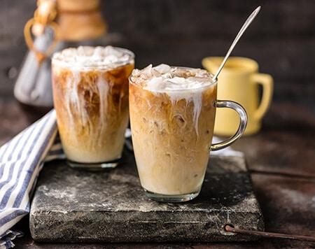 طرز تهیه قهوه یخی تایلندی, قهوه سرد تایلندی, درست کردن قهوه ی سرد یخی